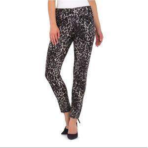 Jordache Leopard Soft Pull On Leggings, XL